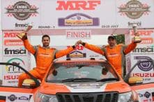 Gill Takes Round 1 of MRF FMSCI Indian National Rally Championship