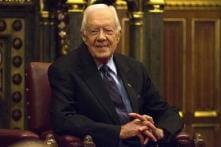 Former US President Jimmy Carter Breaks Hip Ahead of Turkey Hunt