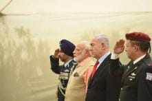 PM Modi Visits Haifa, Pays Homage to Indian World War I Heroes