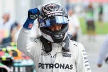 Valtteri Bottas Denies Lewis Hamilton the Final Pole of 2017