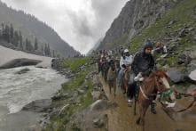Seventh Batch of 3,389 Pilgrims Leaves For Amarnath