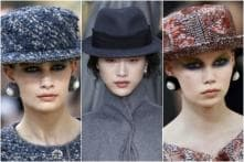 Strong Hats And Slender Belts; Accessories Spotted At Chanel And Dior's Fall 17-18 Show In Paris