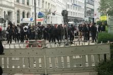 Hamburg Sees Violent Anti-capitalism Protests Hours Before G20 Summit
