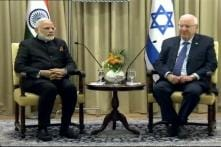 With 'I For I', PM Modi Reaffirms Ties in Meet With Israeli President