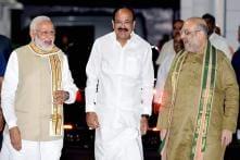 From Nellore to New Delhi: Political Journey of BJP V-P Pick Venkaiah