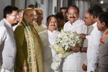 Venkaiah Naidu Files his Nomination for Vice President