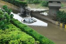 Delhi-NCR Waterlogged After Heavy Downpour, Morning Commute Hit