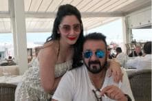 Manyata Uses Sanjay Dutt's Shoes to Hit Him?