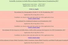 SSC Recruitment: Application For Scientific Assistant in India Meteorological Department Examination Starts on ssconline.nic.in