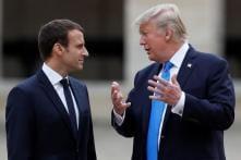 Donald Trump, Emmanuel Macron to Discuss Iran Deal, Syria Situation Next Week