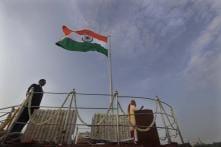Kite Lands Below Red Fort Podium During PM Modi's Address