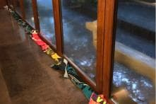 Lara Uses Hubby Mahesh's Towels To Stop Rainwater. Find out his Response