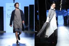 LFW 2017: When Jim Sarbh, Adhuna Bhabani Had a Good Time on the Runway
