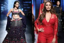 Malaika Arora, Kriti Sanon: Bollywood's Glamorous Lot Takes Over The LFW 2017 Runway