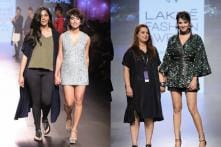 LFW 2017, Day 1: Sonal Chauhan, Sayani Gupta Turn Showstoppers, Exchange Compliments