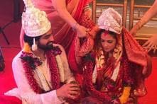 Riya Sen Marries Her Long-Time Boyfriend Shivam Tiwari; See Pics