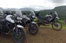 Triumph Tiger Trails Concludes in Aamby Valley
