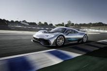 Mercedes-AMG Future Hypercar Officially Named 'One', Based on F1 Hybrid Technology