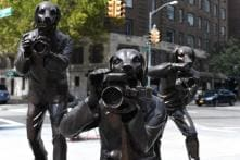 Brass Sculptures on View Spotlight Growing Industrialisation, Loss of Humanity