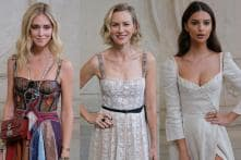 Christian Dior's Spring-Summer 2018 Fashion Collection in Paris