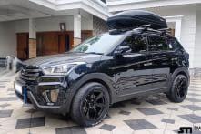 Hyundai Creta Customized, Gets Gloss Black Exterior