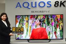 Sharp Unveils 8K Television 'Aquos' at IFA