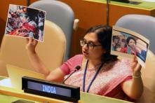 India Counters Pak's Lies at UN With Photo of Murdered Lt. Ummer Fayaz