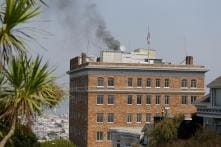 Mysterious Smoke Pours From Russian Consulate Chimney in San Francisco