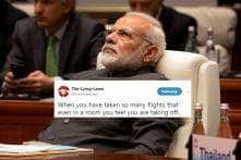 Photo Of PM Modi Lost In Thought Has Become A Hilarious Meme