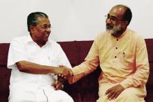 Kerala CM Pinarayi Vijayan Meets New Tourism Minister Alphons Kannanthanam