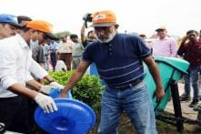On Swachh Drive, Alphons Finds Garbage Everywhere But in Trash Bins