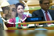Pak Caught Lying at UN, Tries to Pass Off Gaza Woman as 'Kashmiri Victim'