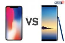 Apple iPhone X vs Samsung Galaxy Note 8: The Battle For Supremacy
