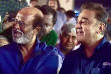 Kamal's Dig at Govt, Rajini's Dig at Him: Politics in Front Seat at Sivaji Memorial