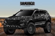 Hyundai Santa Fe Rockstar Energy Moab Extreme Concept to be Unveiled at SEMA Show