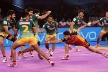 Pro Kabaddi 2017: UP Enter Playoffs Despite Losing to Bengaluru