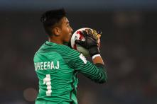 FIFA U-17 World Cup: Dheeraj Catches Eye of Foreign Scouts After Stunning Show