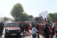 PM Narendra Modi Holds Roadshow in Birthplace Vadnagar