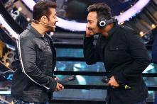 Salman Khan, Ajay Devgn at Bigg Boss 11 Weekend Ka Vaar