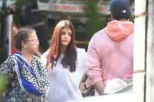 Aishwarya Rai Bachchan Visits Parents' House With Abhishek Bachchan After Fire Breaks Out