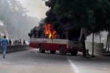 BSP Leader Shot Dead Near Allahabad University, Supporters Burn Buses