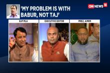 Watch: Sangeet Som and Asaduddin Owaisi Lock Horns Over Taj Mahal