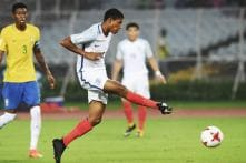 FIFA U-17 World Cup: Brewster Hat-trick Sinks Brazil, Takes England to Final