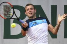 Tennis Player Evans Banned for One Year Over Failed Doping Test