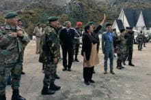 Nirmala Greets Chinese Soldiers With 'Namaste', Waves for Their Cameras
