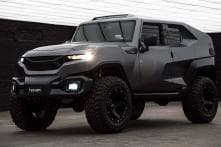 Rezvani Tank XUV Makes You Feel Like Hobbs From Fast and Furious