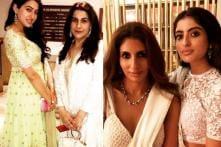 Sara, Navya Steal The Show at Abu Jani-Sandeep Khosla's Diwali Bash