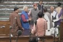 Scuffle Between JD(U) and RJD Members Inside Bihar Assembly