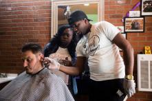This Barber Gives Free Haircuts to the Homeless People