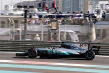 Lewis Hamilton Fastest in Final Practice of the Season